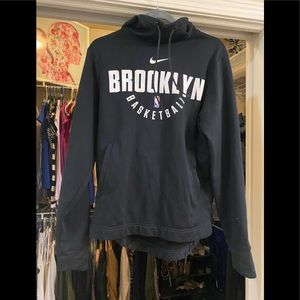 Brooklyn nba basketball dri fit hoodie